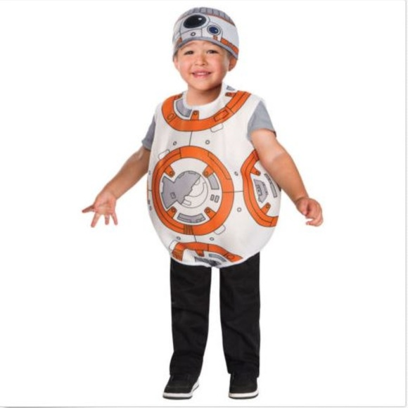 M_5b7c9535c617771292638ff1  sc 1 st  Poshmark & Rubieu0027s Costumes | Star Wars Bb8 Child Halloween Costume Size 3t4t ...